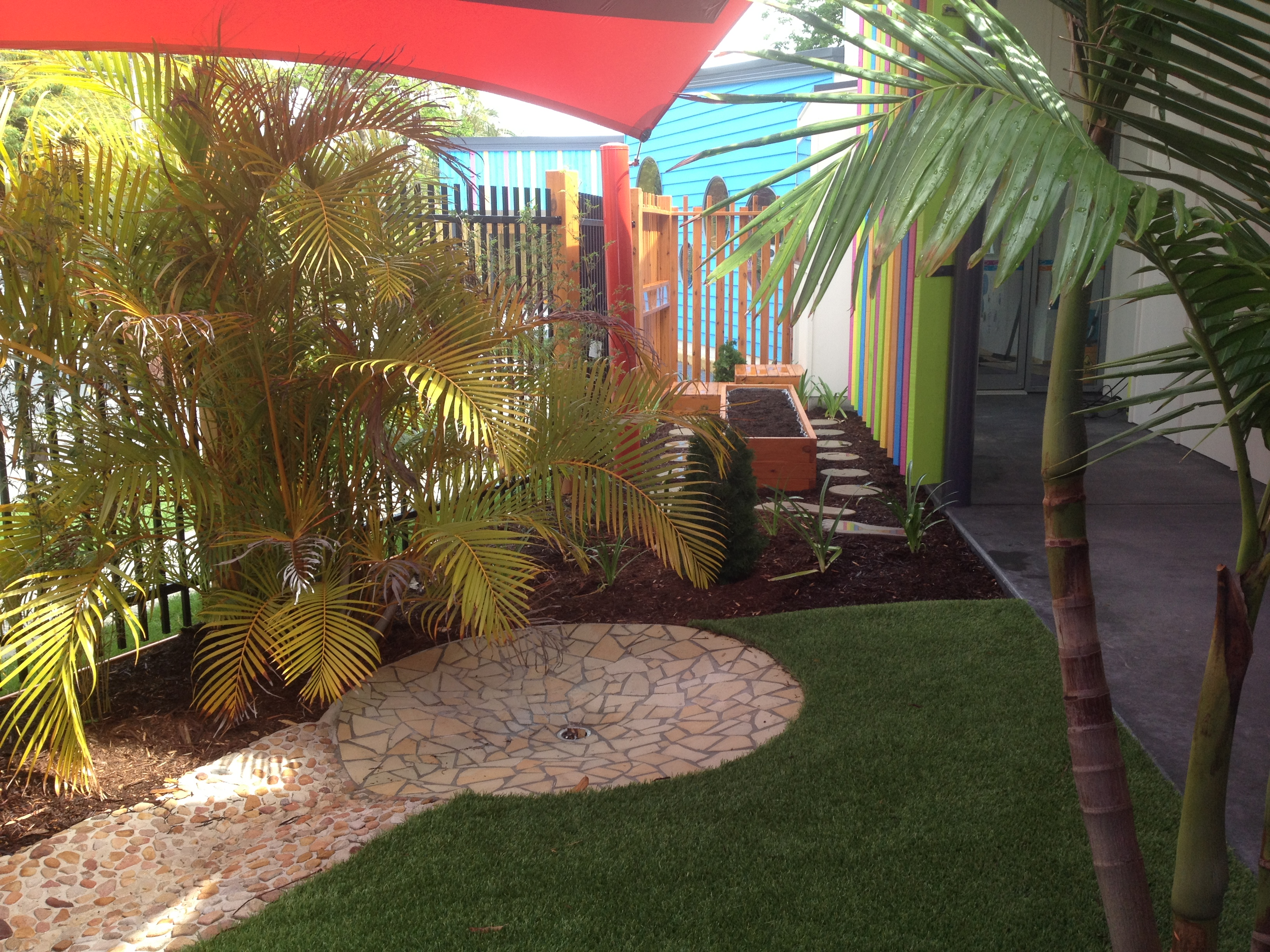 Kool Kids Early Learning Centre Crazy Paving